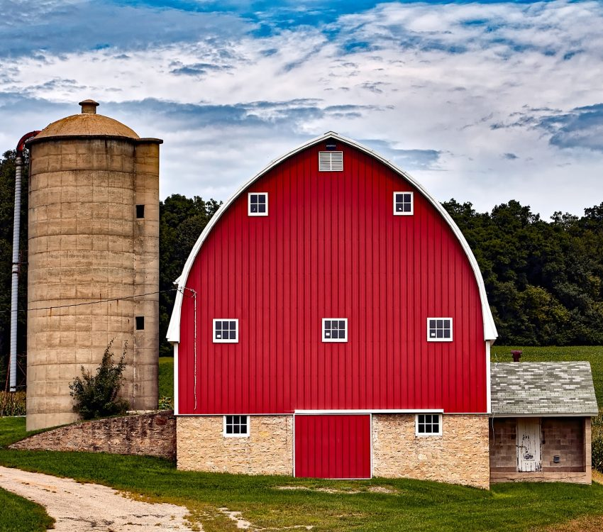 red-built-structure-against-sky-247532